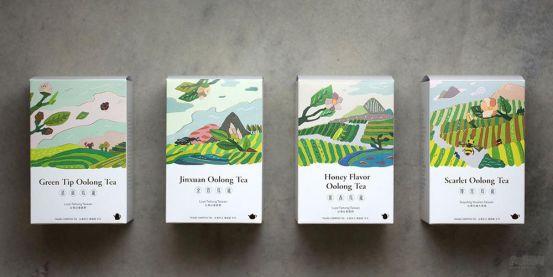 茶叶天空包装